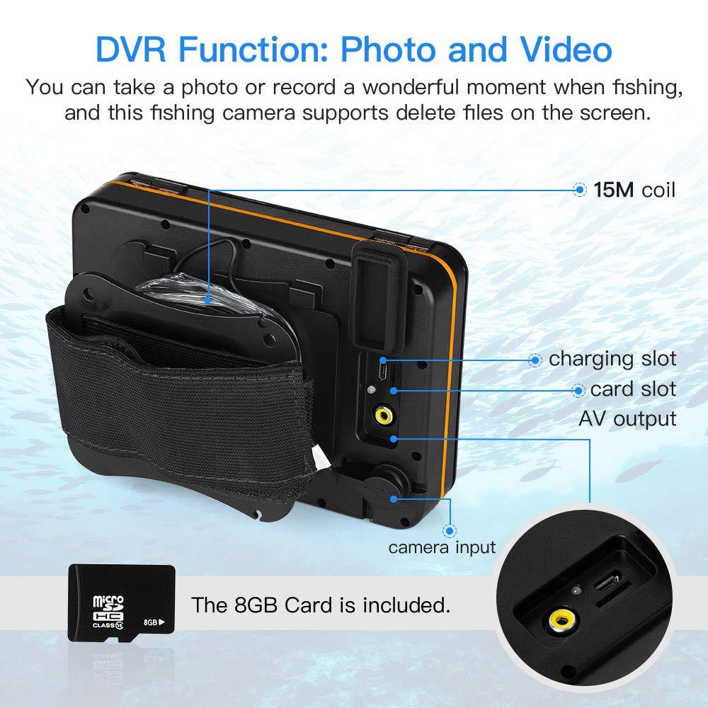 Eyoyo Portable Underwater Fishing Camera, 5