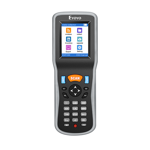 Eyoyo Inventory Scanner, Portable 1D Wireless Barcode Scanner Data Collector, Handheld Data Terminal Inventory Device with USB Receiver & 2.2 inch TFT Color LCD Screen